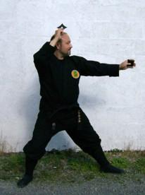 Master the Shuriken - the Ninja's Throwing star - by Shidoshi Jeffrey M. Miller